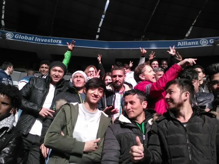 Ausflug in die Allianz Arena