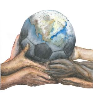 Ein Fußballbuch geht um die Welt_Bildvorderseite