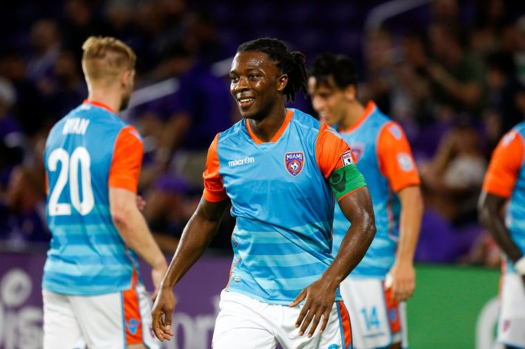 Michael Lahoud played for Miami FC. Photo: Alenny Orovio